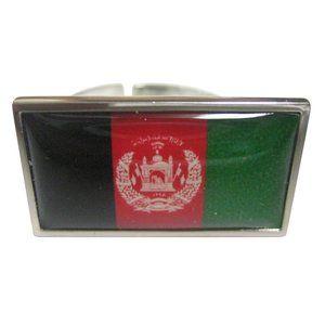 Afghanistan Flag Fashion Ring